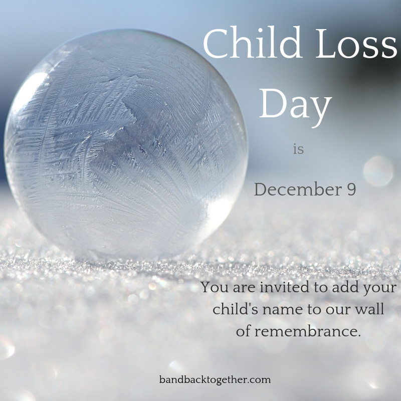 child loss day